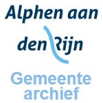 Archives de la municipalité Alphen aan den Rijn (Pays-Bas)