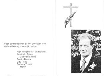 Prayer card